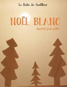 Affiche Noël Blanc